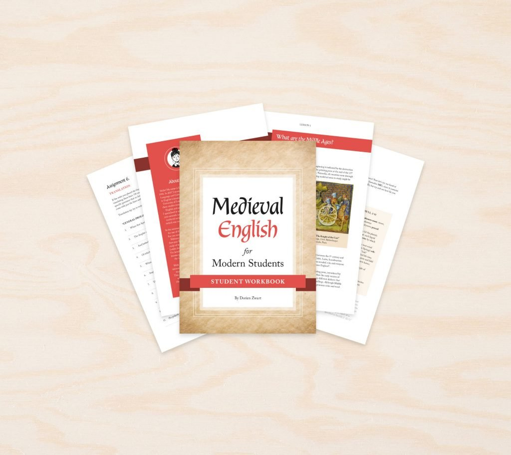 medieval english for the modern students, educatief lesmateriaal